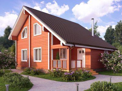 дома из бруса для проживания недорого